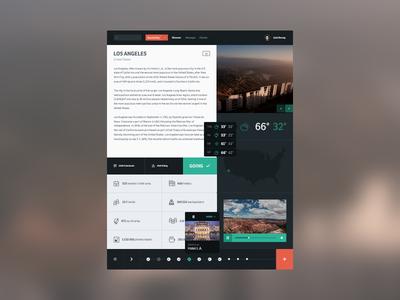 Backpacker Planner app application sweden icon icons social ui timeline