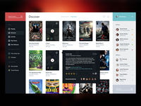 2. Movie Service UI