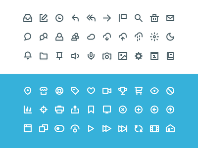 60 Vicons - Free Icon Set icons psd icon freebie ui web website app flat free