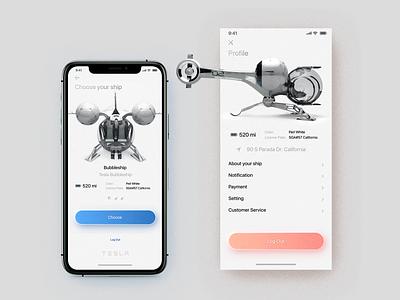 Concept app taxi app ui neomorphism minimal like web