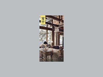Mobile Slider ux minimal color flat web design ui
