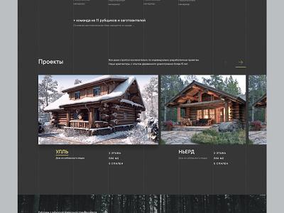Projects minimal like flat web
