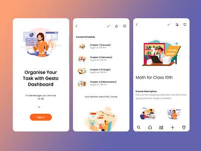 Tutorial UI e learning tutorial branding amptus ux homepage design responsive