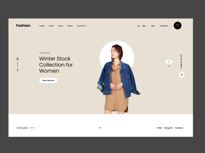 Fashion Ecommerce Design sumit sharma shopes branding ux amptus design ecommerce ecommerce shop homepage strap