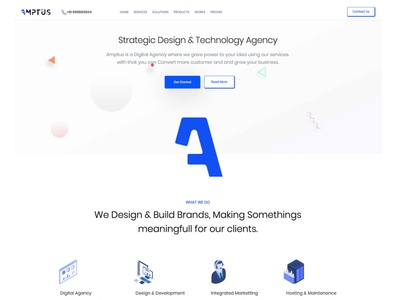 Amptus Home Page