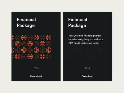 Financial Package finances package download