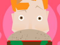 Conan O'Brien loves Burgers