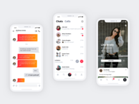 Chat and User Profile - Sienna iOS UI Kit