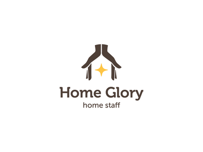 Home Glory logo concept