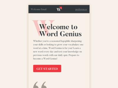 Word Genius Redesign