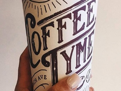Coffeetyme To-Go Cup Design