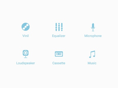Record Icons Blue cleveroad ios logo icon