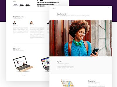 Personal Portfolio Case case work ux ui personal concept website portfolio