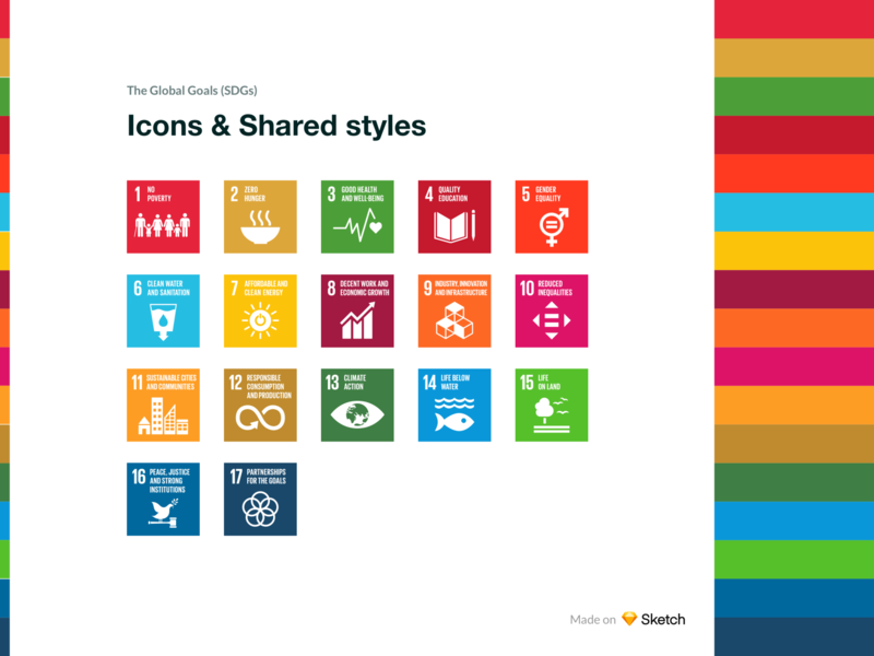 The Global Goals - Icons & Shared styles