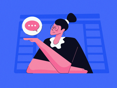 Flat Design Illustration: Woman in Adobe Illustrator vector ui design lofi minimal woman illustration art illustrations illustration illustraion illustrator flat  design flat illustration flat design flatdesign flat