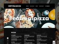 Hot Italian Menu Page