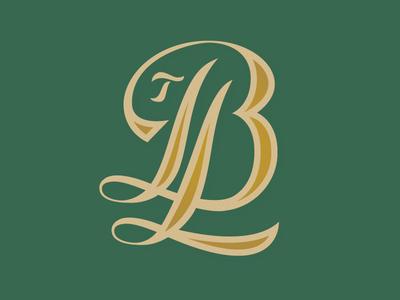 TBL Monogram Logo classic mark monogram logotype logo
