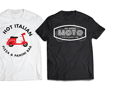 Pizza Shop Shirts italian motorcycle pizza scooter