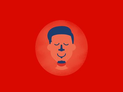 The Visual Scholar Self Portrait profile self portrait visual illustration avatar vector