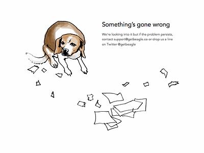 Beagle error page error page 500 error 500 error
