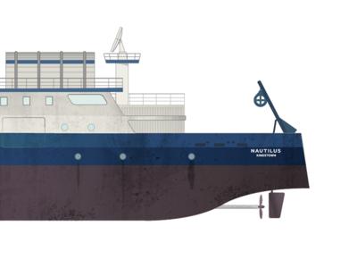 EV Nautilus ship drawing edtech ocean explorer drawing game setting ship