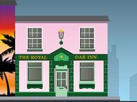 The Royal Oak Inn Artwork