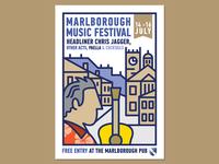 Marlborough Music Festival Poster