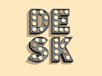 Sticker for Desk Cowork