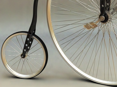 Old Bike render bike old personal project 3d