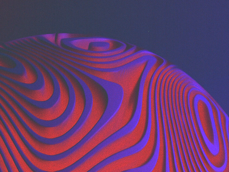 Occult - 006 experiments colors abstract noise visual c4d glitch after effects motion