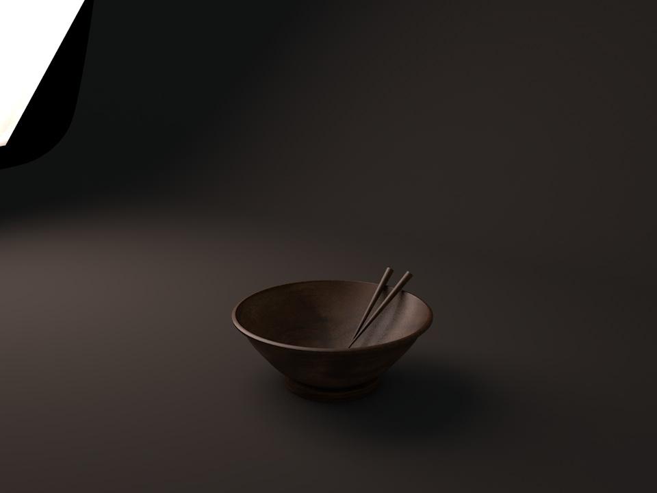 3D Bowl - 02 design bowl food visual render 3d c4d