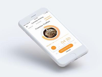 Tiramisu Truffles Anyone? app design ui
