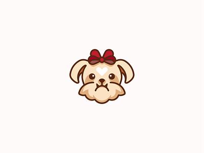 Princess puppy yorkie illustration design
