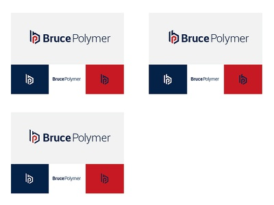 Bruce Polymer - Exploration 1 of 4 dedesigndirect graphic design detroit brand mark design logo