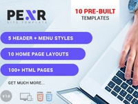 Pexr - Responsive MultiPurpose HTML5 Template