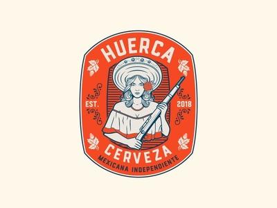 Huerca Craft Beer Logo Design