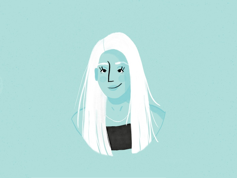 Portrait Illustration woman illustration woman portrait woman illustration