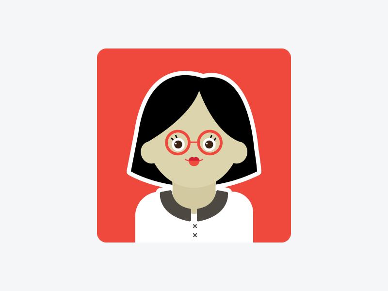 Character illustration vector