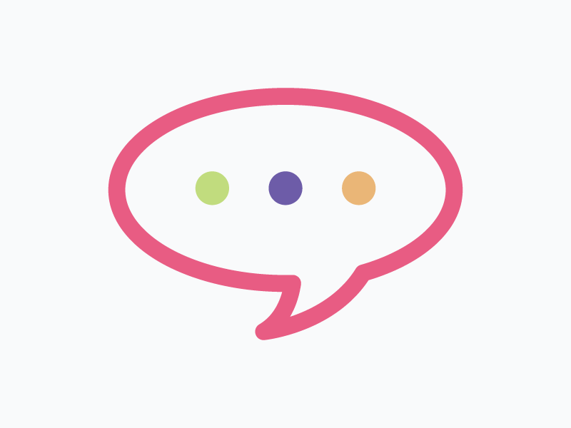 Icon – Expert Advice advice message conversation vector colourful icon
