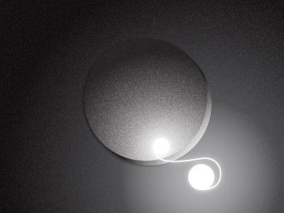 36 days of type - Q calin krado white shadow grey gradient black light letter lettering 36daysoftype 36days