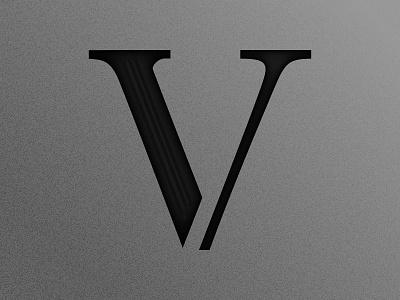 36 days of type - V ancient rome roman monochrome gradient black white 5 letter lettering 36daysoftype 36days