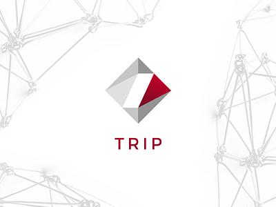 Atelier Trip Logo architecture prism graphic design logo design logo trip atelier