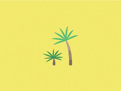 Just a Tree - 4 green vegetation tree flat design illustration