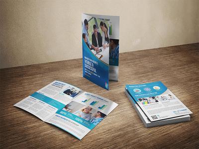 Tornado Uae - Dubai Seo Company A4 Bi-fold Brochure