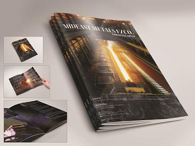 Mideast Metals FZCO - Stainless Steel Company Profile brochure a4 steel companies in uae stainless steel plates stainless steel sheets stainless steel pipe stainless steel uae