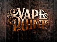 Vape Point Golden Logo Visualization