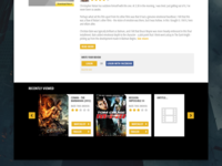 IMDb Movie page redesign
