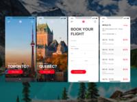 AirCanada iOS app