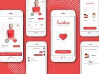 Truelove app UI