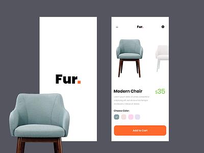 Online Furniture Retail App! illustrator photoshop inspiration uidesign wireframing dailyui ux ui appdesigner designinspiration appdesign userinterface